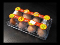 Cofraje oua gaina cu 8 compartimente